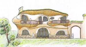 organická rodinná vila El Palol