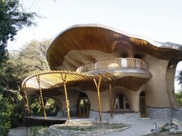 organická vila El Palol - vizualizace