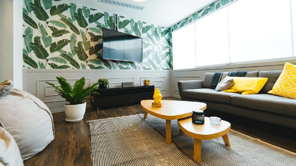 feng šuej - obývací pokoj