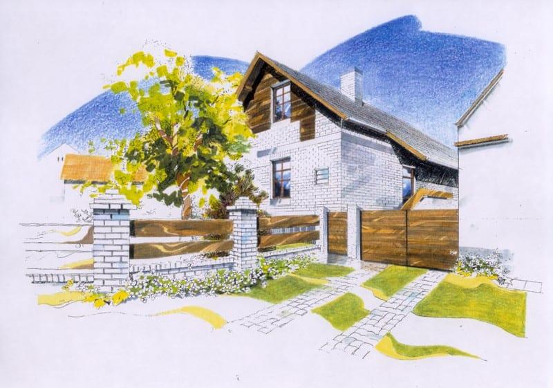 Návrh domku