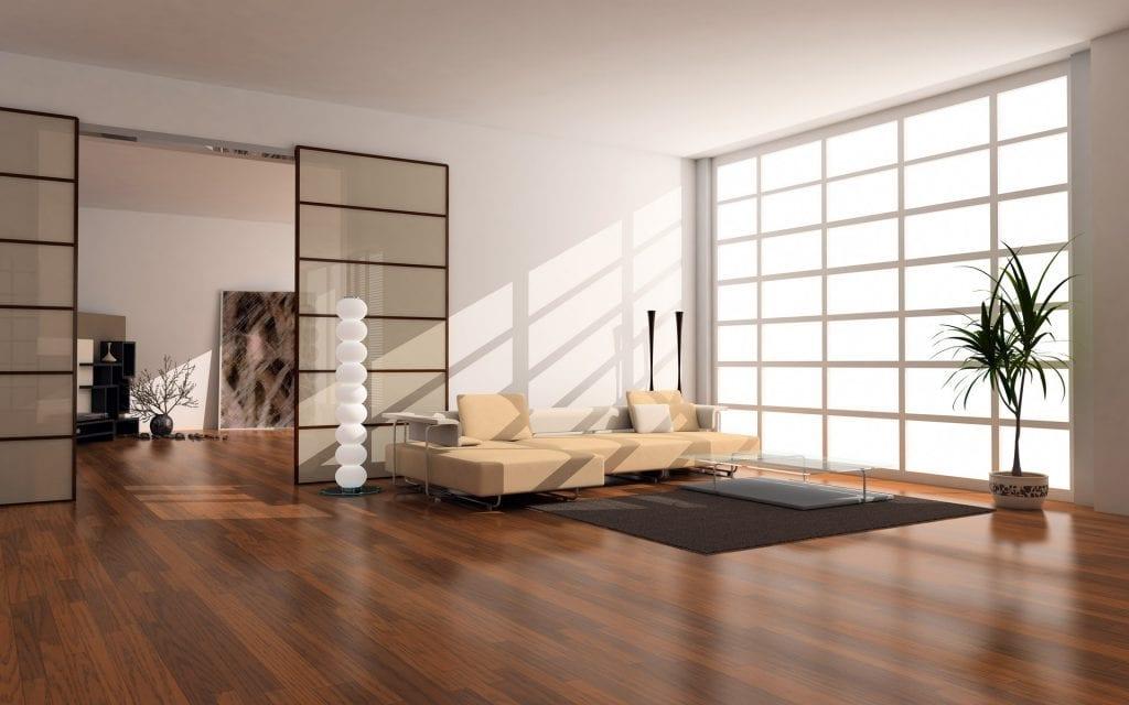 minimalistický interiér