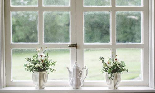 okno - zateplení domu