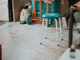 Zrenovovaný stolík DIY