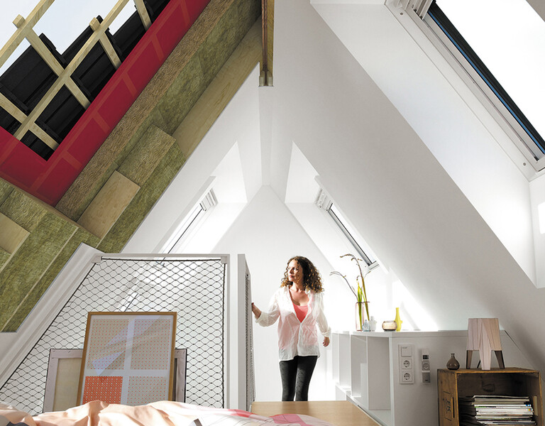 Správná izolace stěn, podlah a stropů snižuje tepelné ztráty