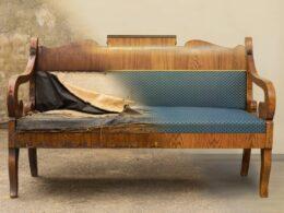 Renovace starého nábytku není jen otázkou peněz