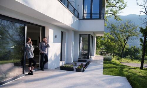 Rekuperace, izolace a pevná střešní konstrukce jsou základem pro dům odolný proti změnám klimatu